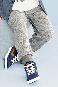 Boys Clothing Online - 3 months to 6 years - Next Textured Joggers - EziBuy New Zealand