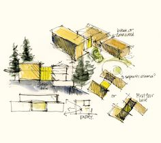 architect sketch drawing - Buscar con Google