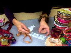 How to Make Locker Hooked Bangle Bracelets.  Ha, ha!  I have one of those hooks and I didn't know what it was for!