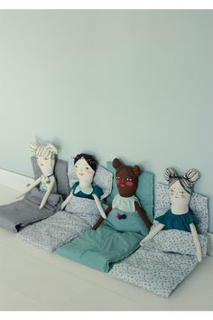 Knuffels à la carte blog: What a lovely slumber party!