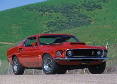 1969 Ford Mustang Boss 429 specs, photos Cars with Muscles All Ford Mustang cars 1969 ford mustang 1969 Mustang Body on a 2014 Chassi. Ford Mustang Boss, Shelby Mustang, Mustang 1969, Mustang Cars, Mustang Fastback, Cool Muscle Cars, Muscle Cars Vintage, Vintage Cars, Cool Cars