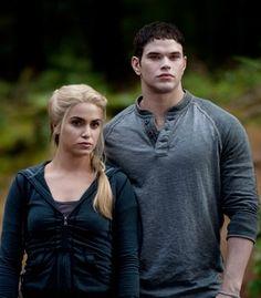 The Cullens: Nikki Reed and Kellan Lutz | 'The Twilight Saga' Cast | Comcast.net