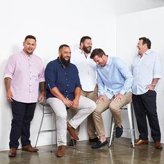 Johnny bigg - Chubsters are fond of Big and Tall Men's fashion clothes - Vêtements grande taille homme - Plus Size Men - Large Men Fashion, Best Mens Fashion, Big Fashion, Look Fashion, Style Masculin, Herren Style, Plus Size Men, Men Style Tips, Style Ideas