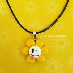 Flowey Necklace by LizClaudia on DeviantArt