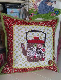 Jo's cushion by ochil_lynz, via Flickr