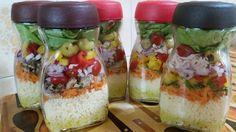 Como preparar uma salada de Pote
