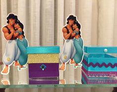 Caixinha Princesa Jasmine e Aladin 10 Birthday, 10th Birthday Parties, Princesa Jasmine, Aladdin, Ideas Para, Toy Chest, Wrestling, Party, House Party