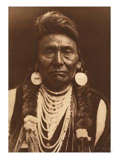 Chief Joseph-Nez Perce, 1903 Giclée-Druck von Edward S. Curtis bei AllPosters.de