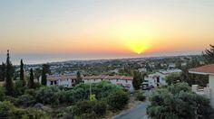 Girne'de güne başlarken.