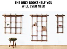 The Only Bookshelf You Will Ever Need by Sudacas — Kickstarter