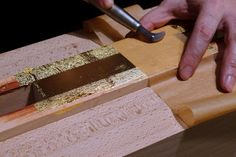 Papercut Bindery: 2. Rough Edge Gilding Whole site is full with how to`s