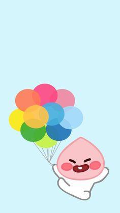 • KaKao Friends 복숭아 리틀 어피치 모음.❤️ 배경화면/잠금화면 : 네이버 블로그 Iphone Wallpaper Kawaii, Apeach Kakao, Peach Wallpaper, Little Peach, Kakao Friends, Friends Wallpaper, Line Friends, Cute Designs, Cute Wallpapers