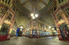 Leadenhall Market by odin's_raven, via Flickr