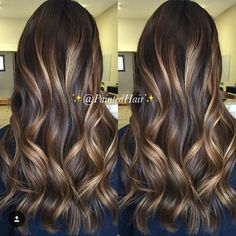 | Caramel Beige Waves | from @paintedhair We can't stop staring at this one. Can you? :) #jackwinncolor #thehaircolorthatpaysyou