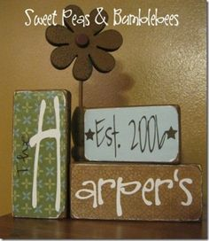 Super cute! ...good idea for a friends future wedding/engagement gift.  #2x4 #crafts