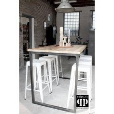 Industriële bartafel - quip&Co