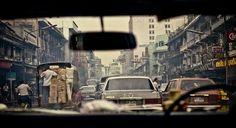 Behind the wheel, 1984