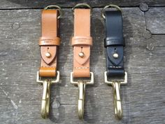 Key chains from Leather Works Minnesota