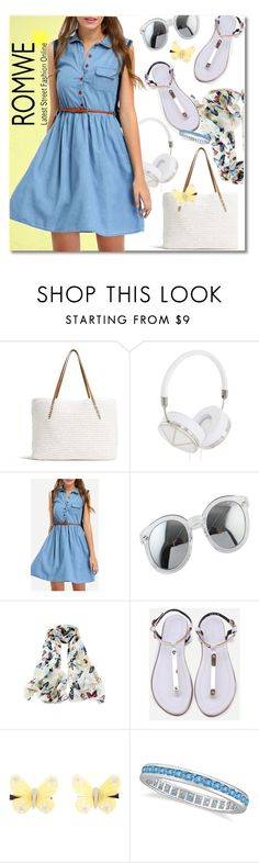 """""""#DenimDress"""" by andrea2andare ❤ liked on Polyvore featuring G.H. Bass & Co., Frends, Monsoon, Allurez and DenimDress"""
