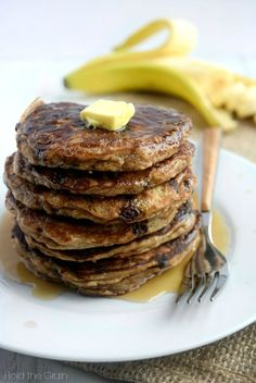 The pancakes are thick, fluffy and moist. You'll notice that the batter itself is much thicker than traditional pancake batter, so you need to spread out ..