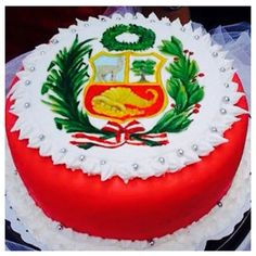 Amazing Peruvian cake