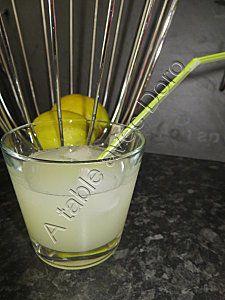 Limonade au thermomix - A table avec doro