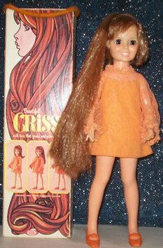 Crissy Doll  1968. My older sister had this doll...and she cut off all her hair!