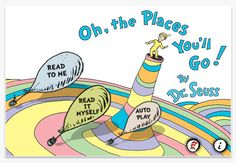 Oh, the Places You'll Go!  app for iPad