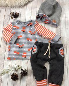 VERKAUFT ‼️#frischgenäht#unikat#einmalig#zumverkauf#madeitmyself#handmade#nähen#herbst#herbstoutfit#nähenfürbabys#sewing#sewingforbaby#becreative#dowhatyoulove#babyoutfit#babyfashion#babyboy#baby2017#fashion#babyset#beanie#fuchs#füchse#streifen#stripes#orange#grau#größe68#🦊➡️ bei Interesse bitte eine Nachricht per DM😉