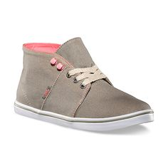 Sneaker? Hi Top? Desert boot? Whatever you call it, however you wear it, it is a fun summer shoe . . . and a #Vans original. Women's Weather Canvas Camryn Slim