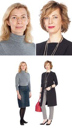 Estilista russo prova que roupa e maquiagem podem transformar qualquer mulher
