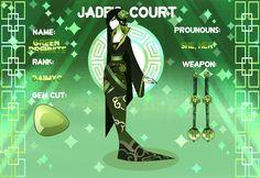 Jade Court Aventurine by KiraAsael Gem fusions, Jade, Gems