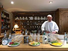 A bit of local Gin tasting along with making some traditional Irish soda bread