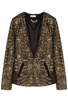 DAY Birger et Mikkelsen Sequined crepe blazer | NET-A-PORTER