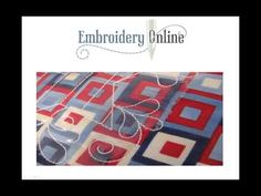 ▶ Quilting with an Embroidery Machine - YouTube