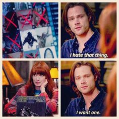 Sammy has tech envy