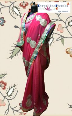 Kalash! Our new motif style designing with Gota!!!