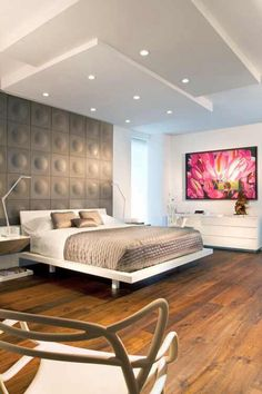 Interior .. Modern bedroom