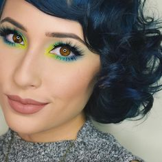 Neon Look by Rosalina Young