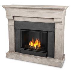 Real Flame Torrence Cast Mantel Gel Fuel Fireplace | Wayfair