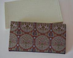 Vintage fukusa basami flat wallet, silk, c.1981