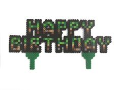 Minecraft Inspired Birthday Cake Age Numbers – Presents for girls Minecraft Birthday Cake, New Birthday Cake, Birthday Presents For Girls, Minecraft Party, Happy Birthday Cakes, Birthday Diy, Birthday Party Favors, Birthday Ideas, Minecraft Cake