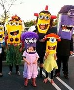 Homemade Minion Costumes                                                                                                                                                                                 More