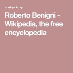 Roberto Benigni - Wikipedia, the free encyclopedia