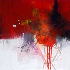 Original abstract painting, modern art, acrylic painting, paintings, wall art, red orange painting, canvas painting, art painting, Kunst on Etsy, $139.06
