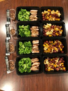 Health Meal Prep, Easy Healthy Meal Prep, Paleo Meal Prep, Easy Meals, Keto Meal, Weekly Lunch Meal Prep, Food Prep, Healthy Eats, 1200 Calorie Meal Prep
