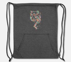 funny girl cat shirt design cat flowers 2020 Sweatshirt Drawstring Bag ✓ Unlimited options to combine colours, sizes & styles ✓ Discover Drawstring Bags by international designers now! Shirt Design For Girls, Cat Flowers, Cat Shirts, Girl Humor, Drawstring Backpack, Shirt Designs, Sweatshirts, Cats, Funny