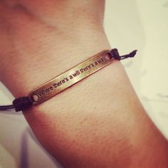 Where there's a will there's a way macrame by AroundMyWrist, 11.95