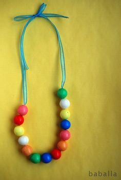 collar de chicles