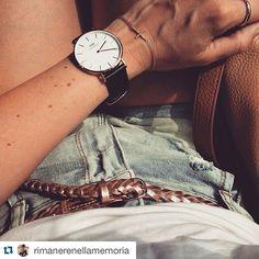 #Repost @rimanerenellamemoria ・・・ ✨Todays Look✨#leafschmuck #leafjewelry #denim #danielwellington #blogger #bloggerstyle #inspo #instaday #today #watch #accessoires #followforfollow #followback #followall #followme #instasummer #inspirations #amazing #style #stylish #fashionblogger #styleblogger #mylook #summerday #summerlook #summerfashion